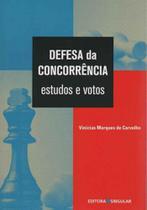 Defesa da Concorrência - Estudos e Votos - Singular
