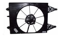 Defletor Da Ventoinha Vw Gol G5 / Fox / Polo Com Ar - Ideal Cooler