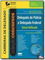 Delegado de policia e delegado federal: teoria uni - Saraiva