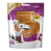 Delicias do Chef Filé de Frango para Cães - 30 g - Petitos