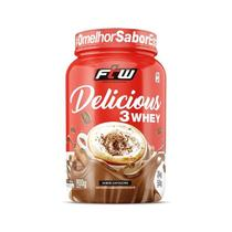 Delicious 3 whey ftw 900g - cappuccino -