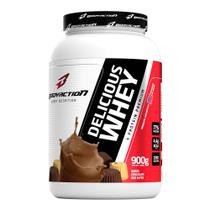 Delicious Whey (900g) - Body Action Sabor:Chocolate dos Alpes