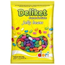 Deliket - Jelly Beans - Frutas Sortidas - 700g - Dori -