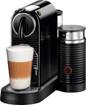 DeLonghi Nespresso CitiZ & Milk Cafeteira Máquina para Café Espresso by De'Longhi Preto-EN267BAE -