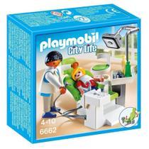 Dentista com Paciente - Playmobil - Sunny/spin master