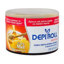 Depilador DepiRoll Aromas Mel Cera Morna para Pernas, Braços, Axilas, Virilha e Buço - Depi Roll