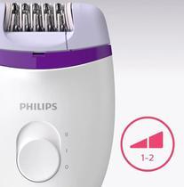 Depilador Elétrico Feminino Satinelle Philips BRE225 Bivolt com 2 Velocidades -