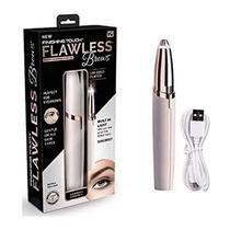 Depilador Facial Indolor Para Sobrancelhas USB + Mini Pente - Flawless