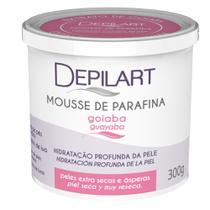 Depilart mousse de parafina c/ extrato de goiaba 300g -