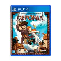 Deponia - Ps4 - Sony
