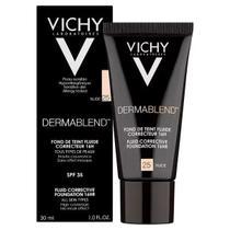 Dermablend Vichy Tonalidades  25 35 45 Base Corretiva 30ml -