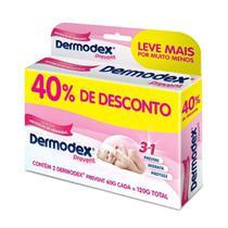 Dermodex Prevent Pomada Com 2 Unidades 60g 40% Desconto -