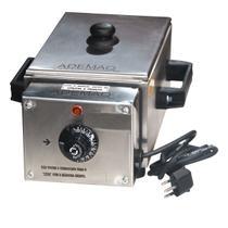 Derreter Chocolate Máquina Profissional 1 Cuba 1/4 2,5 Litros Elétrica Total Inox - Ademaq (220v) -