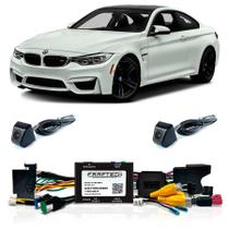 Desbloqueio Com Camera de Re e Camera Frontal BMW M4 2014 a 2016 Com DVD de Fabrica FT RC BM12 - Faaftech