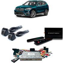 Desbloqueio De Multimidia com TV Digital 1Seg Camera de Re e Frontal BMW X1 2018 - Faaftech