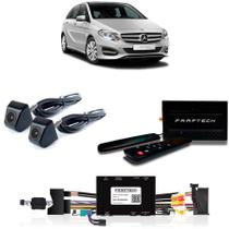 Desbloqueio De Multimidia com TV Digital 1Seg Camera de Re e Frontal Mercedes Classe B 2015 - Faaftech