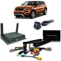 Desbloqueio De Multimidia com TV Digital 1Seg Espelhamento e Camera de Re Range Rover Evoque 2012 a 2015 - Faaftech