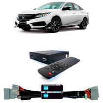 Desbloqueio De Multimidia com TV Digital Full HD Honda Civic 2017 a 2019 Com HDMI - Faaftech