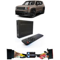 Desbloqueio de Tela Jeep Renegade 2015 a 2018 com TV Digital Full HD