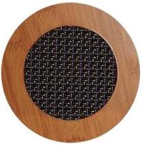 Descanso de Panela de Madeira c/ 2 pçs 16,5x16,5 - Imporiente