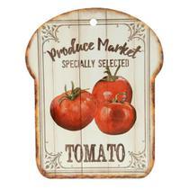 Descanso de panela decorativo tomato em cerâmica 20 x 25 cm dynasty -