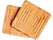 Descanso de Panela Mor Bamboo - 2 Peças -