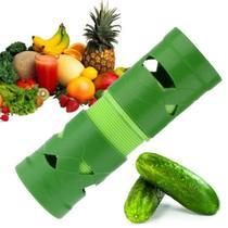 Descascador Cortador De Legumes Espiral Verde - Rpc