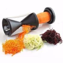 Descascador legumes espiral fita fatiador cortador - Show House Import