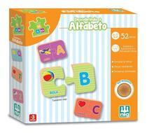 Descobrindo Alfabeto Do A Ao Z Em Madeira Pedagógico - Nig -