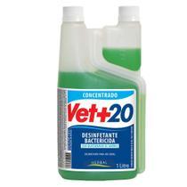 Desinfetante Bactericida Vet+ 20 Concentrado - 1L - Vet +20