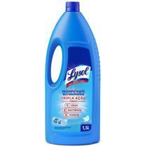 Desinfetante Eficaz Líquido Lysol Pureza Do Algodão 1,5L -