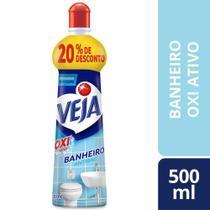 Desinfetante Limpador Anti Bac Veja Banheiro Oxi 500Ml -