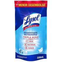 Desinfetante Líquido Lysol Pureza Do Algodão Anti Bac 500Ml -