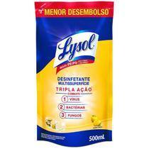 Desinfetante Multissuperfície Poder Cítrico Lysol 500Ml -