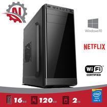 Desktop 5Tech Intel Core I5 /16GB / SSD 120gb / HD 2 TB / Hdmi FullHD Windows 10 Pro / COM WIFI - 5Techpc
