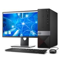 Desktop Dell Vostro VST-3470-A10M 8ª Geração Intel Core i3 4GB 1TB Windows 10 Pro TPM 2.0 Monitor