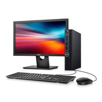 Desktop Empresarial Dell OptiPlex 3070 Micro-P30M 9ª Geração Intel Core i5 4GB 500GB Win 10 Pro Monitor -