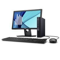 Desktop Empresarial OptiPlex 3060 Micro-P20M 8ª Geração Intel Core i3 4GB 500GB Win 10 Pro Monitor - Dell