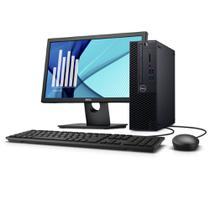 Desktop Empresarial OptiPlex 3060 SFF-P20M 8ª Geração Intel Core i5 4GB 1TB Windows 10 Pro Monitor - Dell