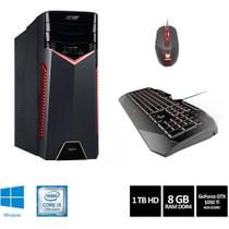 Desktop Gamer Acer Aspire GX-783-BR11 Intel Core i5-7400, 8GB Ram, 1TB HDD, Nvidia GTX 1050 Ti 4GB