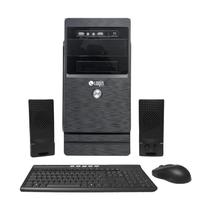 Desktop Login, Core i3, 4GB, 1TB, DVD-RW, Linux com Kit TMC