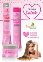 Desmaia Cabelo Begonia kit shampoo condicionador e máscara -