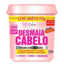 Desmaia Cabelo Forever Liss - Máscara Hidratante 350g. Especial para cabelos ressecados, com frizz e volume - Forever Liss Professional