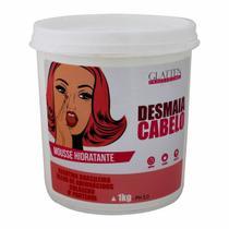 Desmaia Cabelo Mascara Mousse Hidratante Glatten 1Kg -