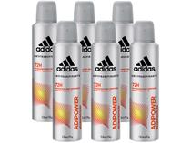 Desodorante Aerosol Antitranspirante Masculino - Adidas Adipower 150ml 6 Unidades