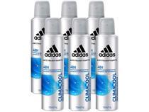ffb97298f Desodorante Aerosol Antitranspirante Masculino - Adidas Climacool 150ml 6  Unidades