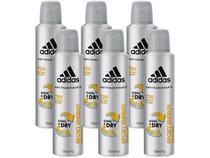 Desodorante Aerosol Antitranspirante Masculino - Adidas Sport Energy Cool  Dry 150ml 6 Unidades