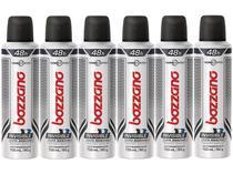 Desodorante Aerosol Antitranspirante Masculino  - Bozzano Thermo Control Invisible 90g 6 Unidades