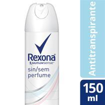 Desodorante Aerosol Rexona Feminino Sem Perfume 90g -