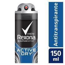 Desodorante Antitranspirante Rexona Active Dry/Azul 150ml -